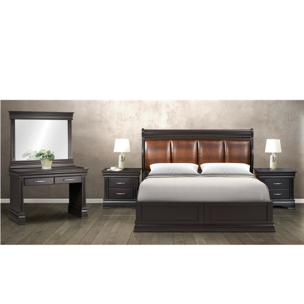 Newport Rounded Bedroom Suite