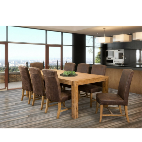 Michigan Dining Table and Allure Chair