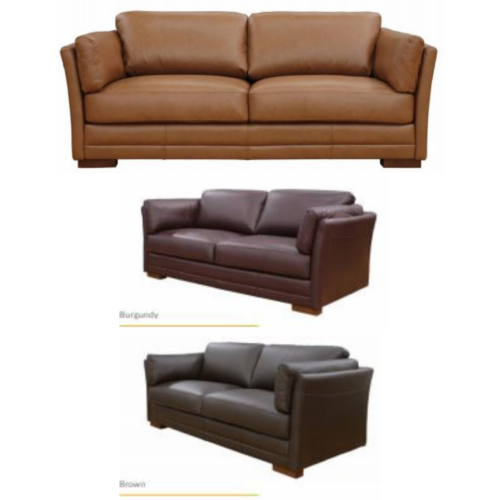 Okura Leather Couch